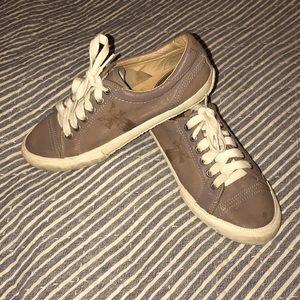 Frye Kira Low Top Tennis Shoes